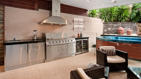 Hospitality design melbourne commercial kitchens bbq for Outdoor entertainment area on a budget