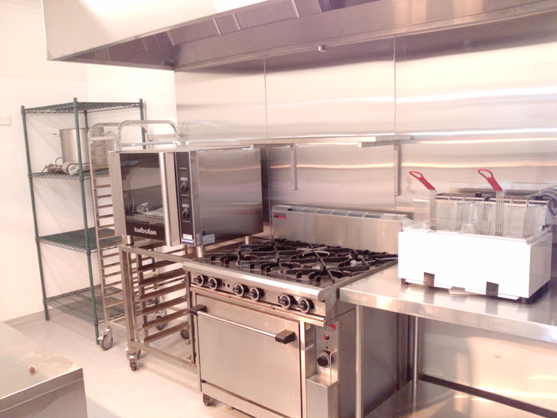 Hospitality design melbourne commercial kitchens i eat cafe for Best commercial kitchen designs