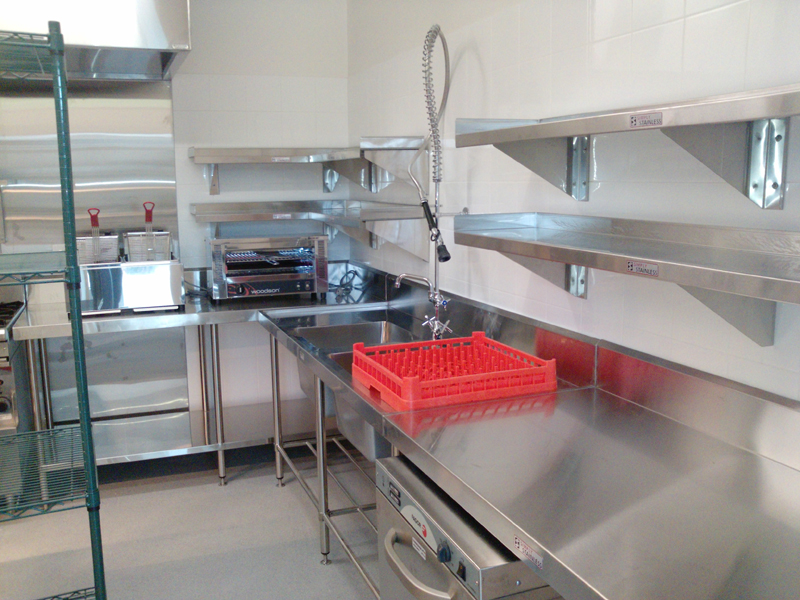 Hospitality design melbourne commercial kitchens i eat cafe for Equipement cafe