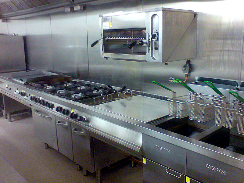 Hospitality design melbourne commercial kitchens richfield - Commercial kitchen designer ...
