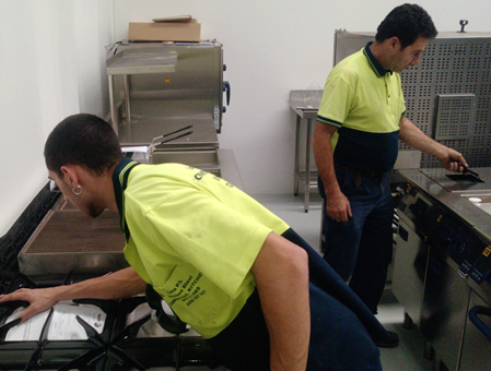 Qualified commercial kitchen installers