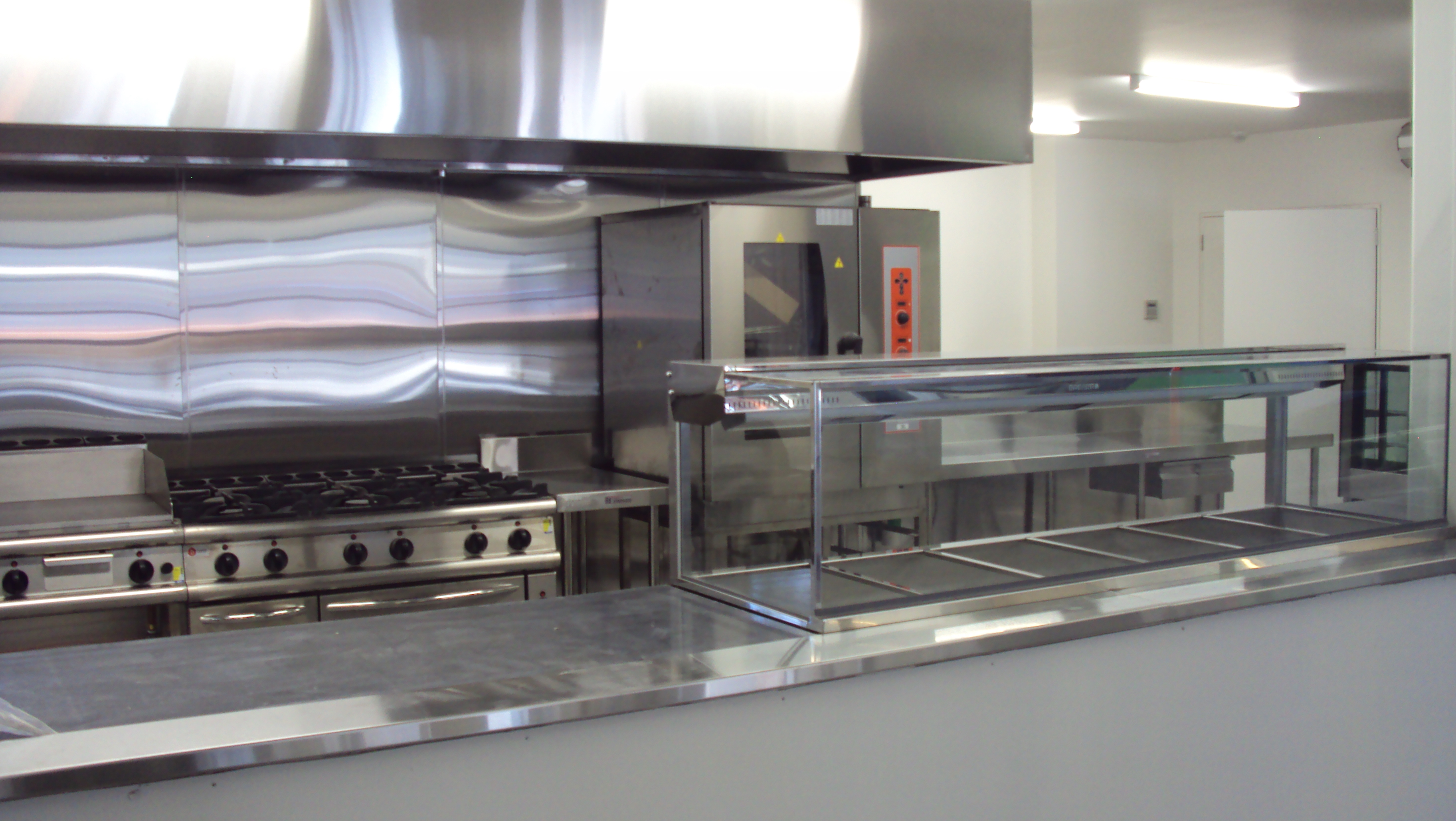Hospitality design melbourne commercial kitchens for Flat pack outdoor kitchen